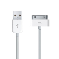 USB кабель для iPad 3/ iPad 2/ iPad/ iPhone 4s/ 3G/ 3Gs/ iPod белый