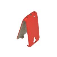 Чехол-книжка для Samsung I9500/Galaxy S4 красная